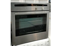 E194 stainless steel neff single electric oven comes with warranty can be delivered or collected