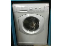 g353 white hotpoint 7kg 1200spin washer dryer comes with warranty can be delivered or collected