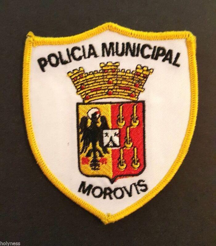 VINTAGE OBSOLETE PUERTO RICO POLICE PATCH / MOROVIS PR / RARE
