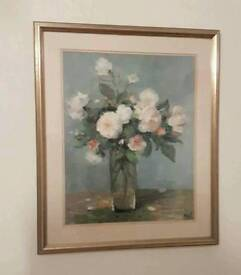 Marcel DYF large framed double mounted print picture