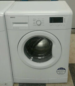 a385 white beko 6kg 1400spin A+ rated washing machine comes with warranty can be delivered
