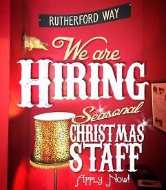Temporary Bar Staff (Christmas Cover)