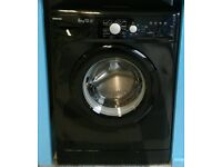 F367 black beko 6kg 1400 spin washing machine with warranty can be delivered or collected