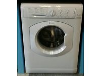 d074 white hotpoint 7kg 1200spin washing machine comes with warranty can be delivered or collected