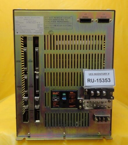 Yaskawa Clsr-64-n2cc Linear Motor Controller Nikon 4s064-211-1 Nsr-s204b Used