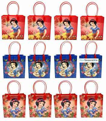 Disney Snow White Birthday Goody Gift Loot Favor Bags Party Supplies Goodies (Snow White Birthday)
