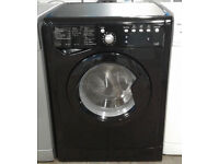 I669 black indesit 7+5kg 1400 spin washer dryer comes with warranty can be delivered or collected