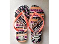 Women's Havaiana Flip Flops - UK Size 3