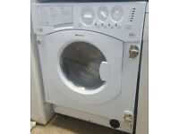 E390 white hotpoint 6+5kg 1200spin washer dryer comes with warranty can be delivered or collected