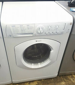 L105 white hotpoint 7kg 1400spin washing machine comes with warranty can be delivered or collected