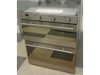 L074 stainless steel baumatic built under double electric oven comes with warranty can be delivered