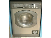 a661 graphite hotpoint 7kg 1400spin washer dryer comes with warranty can be delivered or collected