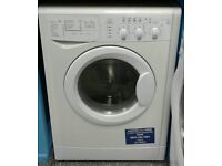 j225 white indesit 6kg&5kg 1400spin washer dryer comes with warranty can be delivered or collected