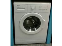 c209 white beko 6kg 1100 spin washing machine with warranty can be delivered or collected