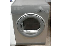 p662 graphite hotpoint 7kg B rated vented dryer comes with warranty can be delivered or collected