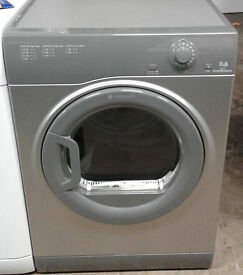 B662 graphite hotpoint 7kg B rated vented dryer comes with warranty can be delivered or collected