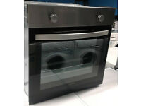 C243 stainless steel & black lamona single electric oven comes with warranty can be delivered