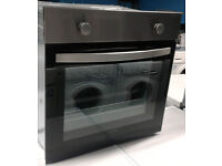 p243 stainless steel & black lamona single electric oven comes with warranty can be delivered
