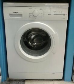B297 white siemens 7kg 1400 spin washing machine comes with warranty can be delivered or collected