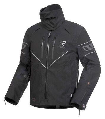 Gore Tex Jacket Rukka Real Size:54 Colour: Black Motorcycle Waterproof GTX