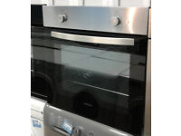BB212 stainless steel lamona single electric oven comes with warranty can be delivered or collected