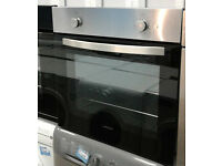 E212 stainless steel lamona single electric oven comes with warranty can be delivered or collected