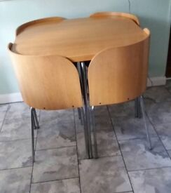 Ikea Fusion Table and chairs. Ideal for a small area.