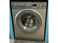 c036 graphite hotpoint 7kg 1400spin A** rated washing machine come with warranty can be delivered