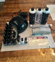 LED gel nail machine and accessoires / machine ongles gel LED