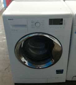 k183 white beko 7kg 1500spin A++ rated washing machine comes with warranty can be delivered
