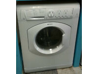 a055 white hotpoint 7kg 1400spin washer dryer comes with warranty can be delivered