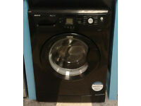 Z063 black beko 8kg 1200spin A+A rated washing machine comes with warranty can be delivered