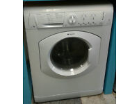 b055 white hotpoint 7kg 1400spin washer dryer comes with warranty can be delivered or collected