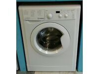 h381 white indesit 6kg 1200spin A* rated washing machine comes with warranty can be delivered