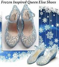 Cinderella or Elsa Costume Party Frozen Party Birthday Girl Shoes Somerton Hume Area Preview