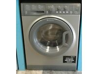 j408 graphite hotpoint 8kg&6kg 1400spin A rated washer dryer comes with warranty can be delivered