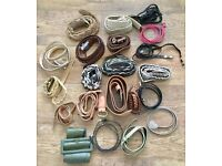 LADIES BELTS - BUNDLE OF 21 - CAR-BOOTERS / EBAYERS GREAT CONDITION