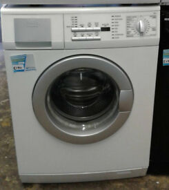 j628 white aeg 8kg 1400spin washing machine comes with warranty can be delivered or collected