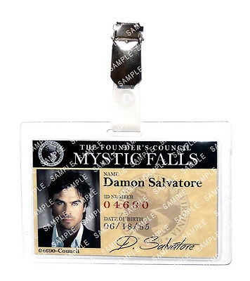 The Vampire Diaries Damon Salvatore Cosplay Prop Costume Comic Con Halloween
