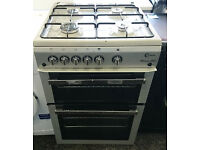 a037 silver flavel 60cm gas cooker comes with warranty can be delivered or collected