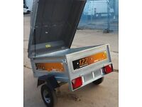 erde 122 car trailer with extras