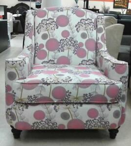 PINK ACCENT CHAIR ON SALE :(FD 169)