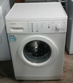 F275 white bosch 6kg 1400spin washing machine comes with warranty can be delivered or collected