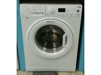 F356 white hotpoint 6kg 1500 spin washing machine with warranty can be delivered or collected