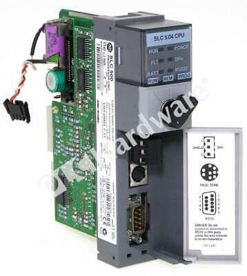 Allen Bradley 1747-l543 C Slc 500 5 04 Cpu Processor Controller Dh Frn 11