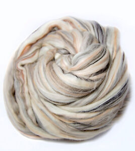 Merino-Multi-Color-Blend-Top-Roving-Wool-Spinning-Felting-Undyed-Fiber-8-oz
