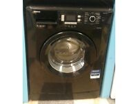 7KG BLACK BEKO WASHING MACHINE ,LED DISPLAY(4 months warranty)