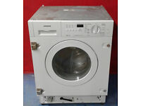 a410 white siemens 7kg 1400spin integrated washing machine comes with warranty can be delivered