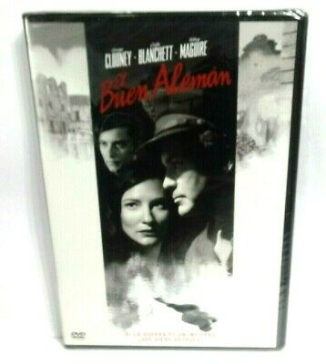EL BUEN ALEMAN DVD NUEVA PRECINTADA
