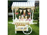 Candy Cart plus more for hire